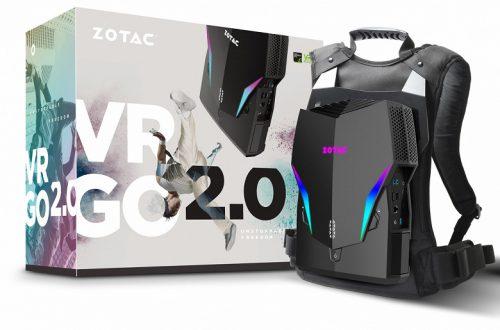 Zotac VR GO 2.0 — рюкзак-компьютер для виртуальной реальности, оснащённый видеокартой GeForce GTX 1070