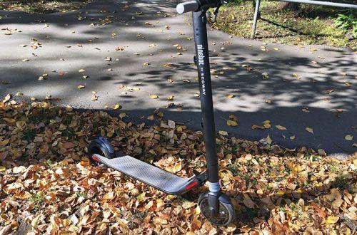 Электросамокат Segway KickScooter NineBot ES1