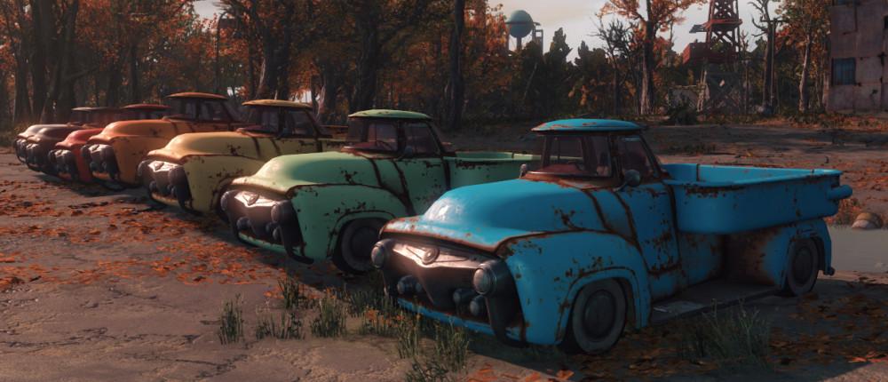GTA в постапокалипсисе. В Fallout 4 добавили возможность управлять автомобилями — скриншоты