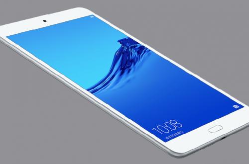 Huawei представила недорогой планшет Honor Waterplay 8 с защитой от воды