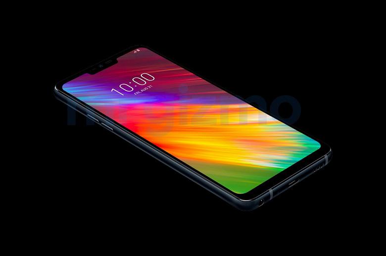 Смартфон LG Q9 позирует на качественных официальных изображениях