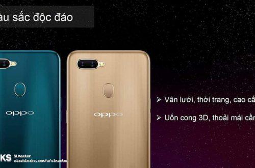Смартфон Oppo A7 запечатлен на видео и в рекламных материалах