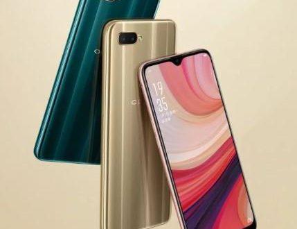 Представлен смартфон Oppo A7: каплевидный вырез экрана, необычные тыльные панели и приличная автономность