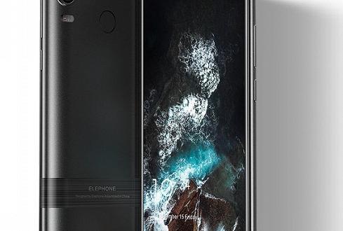 Смартфон Elephone PX: выдвижная фронтальная камера, безрамочный экран и скидка 40% при участии в коллективном финансировании