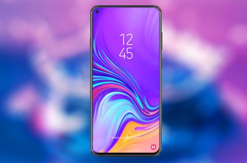 Снимок экрана Samsung Galaxy A8s косвенно подтверждает использование дырявого экрана Infinity-O