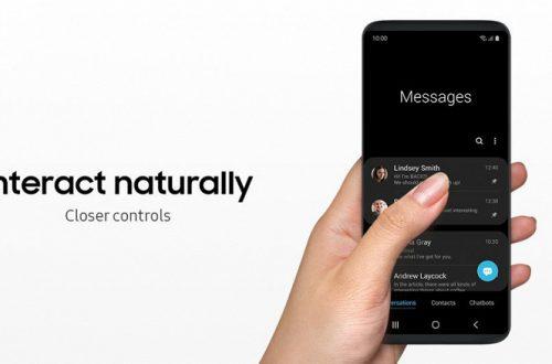 Samsung One UI — совершенно новая оболочка для смартфонов компании