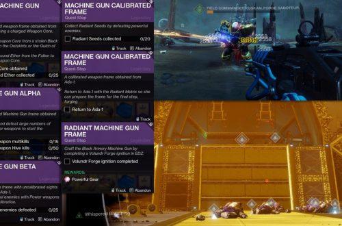 Destiny 2 - релиз дополнения Black Armory и его особенности