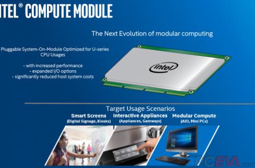 В следующем году Intel выпустит пять новых моделей микро-ПК Compute Module