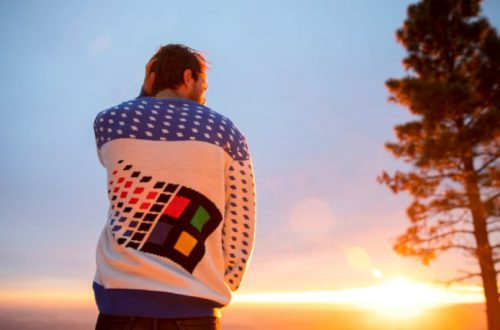 Microsoft выпустит к Рождеству зимние свитера с логотипом Windows 95