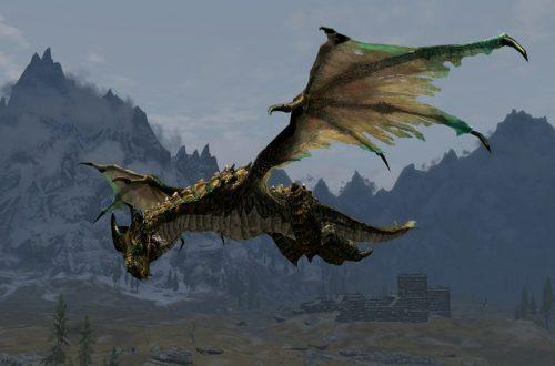 В Skyrim и «Игре престолов» были виверны, а не драконы