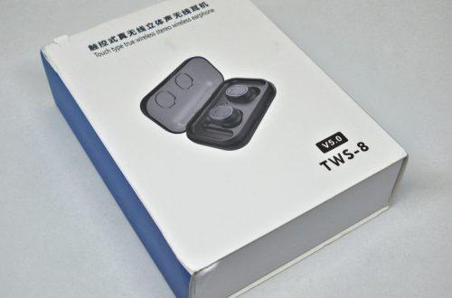 Bluetooth стерео гарнитура с зарядным боксом TWS-8