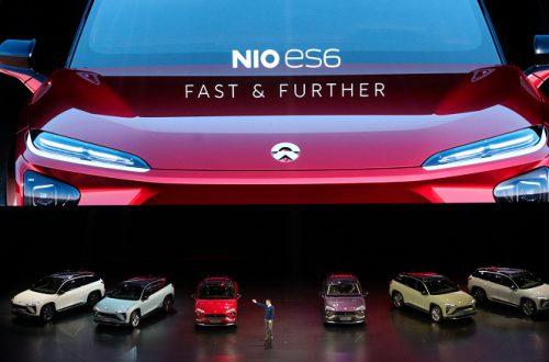 Nio ES6 — электрический внедорожник по цене от 52 000 долларов