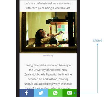 Плавающие кнопки соцсетей поделиться на мобильный сайт wordpress
