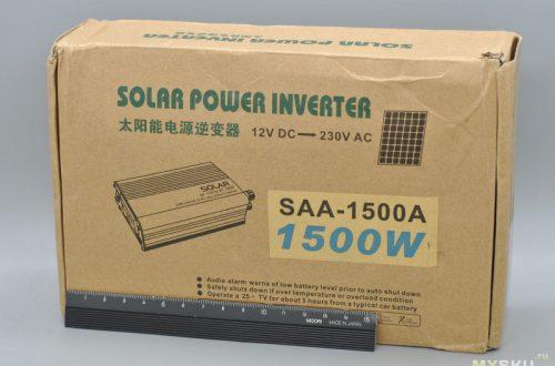 Инвертор 12→220 В в авто якобы 1500 Вт