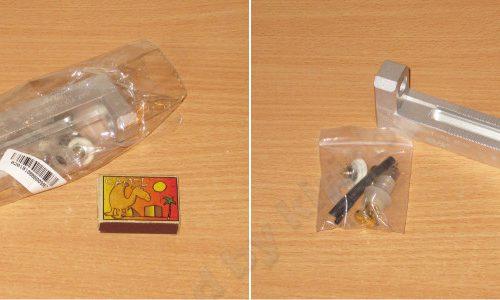 Универсальный держатель аккумуляторов с четырехпроводным подключением