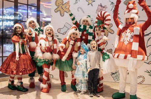 Анфиса Чехова и другие звезды с детьми на елке Hearst Shkulev Group
