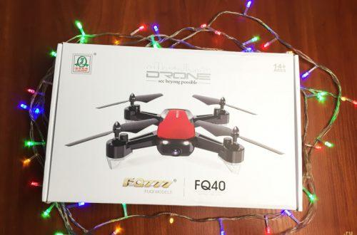 FQ40 Бюджетный FPV квадрокоптер