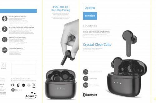 Bluetooth 5.0 TWS наушники Anker Soundcore Liberty Air