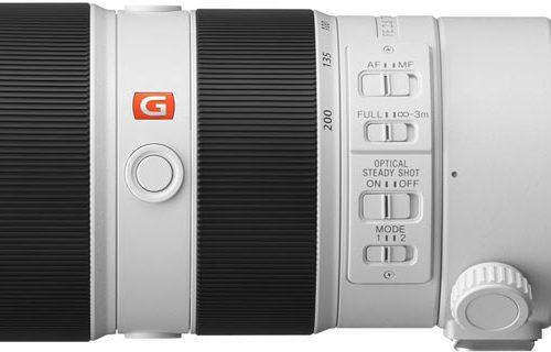 В следующем квартале Tamron выпустит новый полнокадровый объектив 70-200mm f/2,8 с креплением Sony E