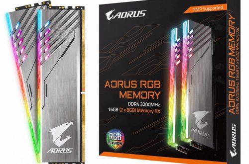 В комплекте Gigabyte Aorus RGB DDR4-3200 объемом 16 ГБ теперь все модули — настоящие