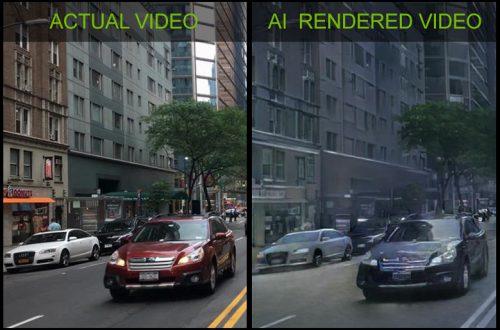 Разработка Nvidia позволяет создавать интерактивные виртуальные миры с помощью ИИ