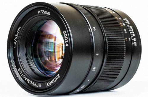 Zhong Yi Optics выпускает объектив Mitakon Speedmaster 65mm f/1.4 для камер системы Fujifilm GFX