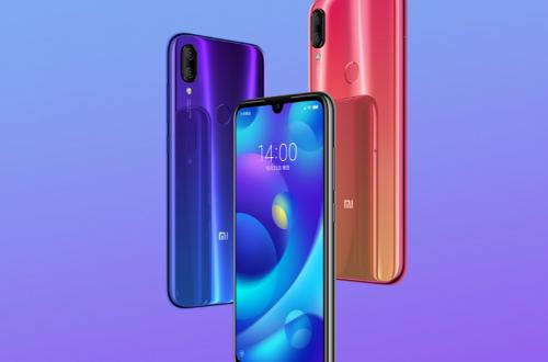 Смартфон Xiaomi Mi Play поступает в продажу
