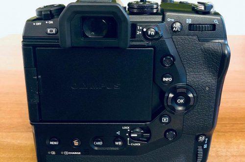 Появились первые изображения камеры Olympus E-M1X