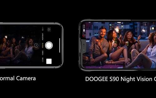 Модульный смартфон Doogee S90 получит камеру для ночной съемки