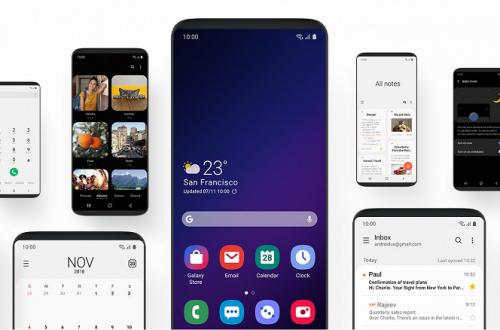 Samsung показала оболочку One UI в рекламном ролике