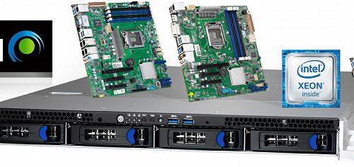 Под маркой Tyan представлены серверные платформы начального уровня на процессорах Intel Xeon E-2100