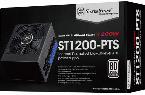 SilverStone ST1200-PTS и ST1000-PTS — самые маленькие блоки питания формата ATX киловаттного класса