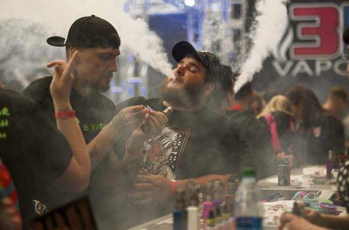 Ожидается, что рынок электронных сигарет в ближайшие годы будет расти на 8,1% в год