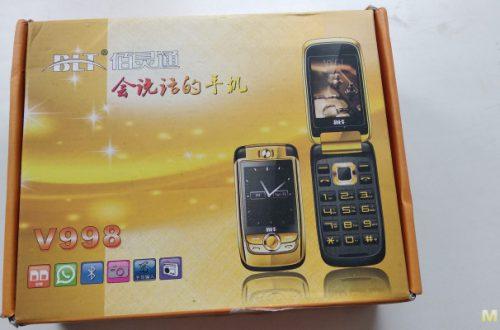 BLT v998.Телефон раскладушка с сенсорным экраном