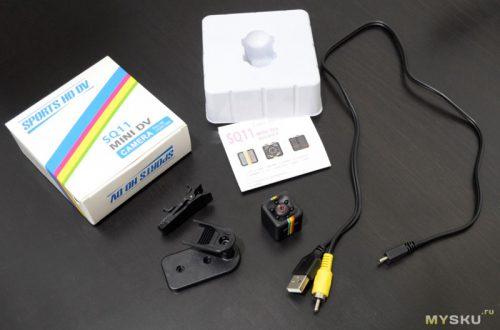 SQ11 мини камера