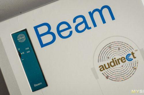 AUDIRECT BEAM — ультрапортативный USB ЦАП