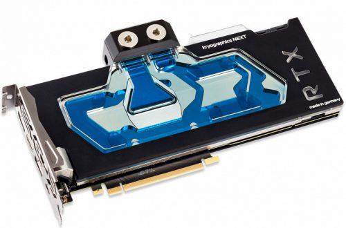 Водоблоки Aqua Computer Kryographics Next 2080 и Kryographics Next 2080 Ti предназначены для 3D-карт серии Nvidia GeForce RTX 20