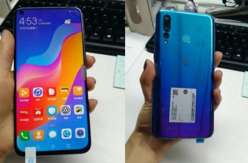Huawei Nova 4 — первый смартфон компании с дырявым экраном — получит топовую платформу и обычный сканер отпечатков пальцев