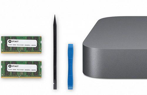 iFixit предлагает сэкономить почти 300 долларов на расширении объёма памяти нового Mac mini