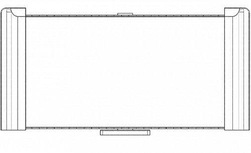 Компания Samsung запатентовала телевизор с экраном OLED, сворачивающимся по горизонтали