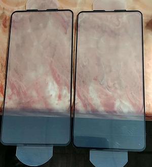 Живые фото защитного стекла для экрана Samsung Galaxy S10