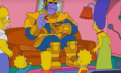 Танос появился в «Симпсонах» и щелкнул пальцами