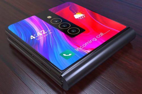 Xiaomi впервые показала свой гибкий смартфон