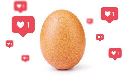 Знаменитое Instagram-яйцо стало героем симулятора свиданий