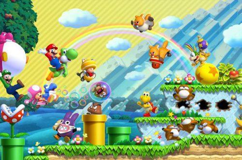 Фанат прошёл всю New Super Mario Bros. U не двигаясь направо