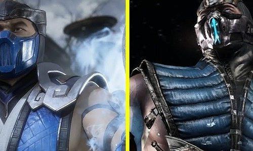 Отличия персонажей из Mortal Kombat X и 11