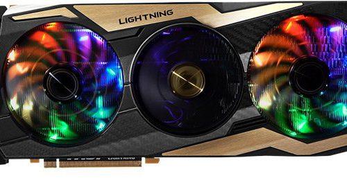 Представлена 3D-карта MSI GeForce RTX 2080 Ti Lightning Z
