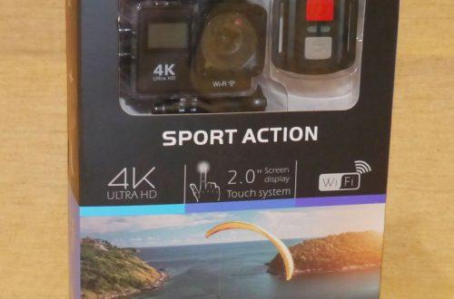 Action Camera с поддержкой wifi и набором креплений + пульт.