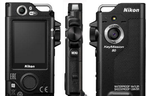 Обновление прошивки позволяет камере Nikon KeyMission 80 заряжаться, если она была выключена при подключении к ПК по USB
