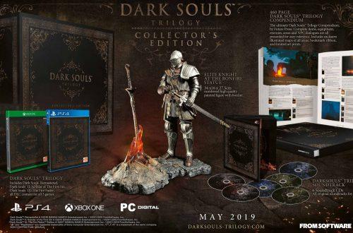 Dark Souls Trilogy — Открыт предзаказ европейского коллекционного издания